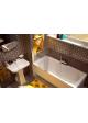 Акриловая ванна Malibu 170х75  (ножки + сифон в подарок)